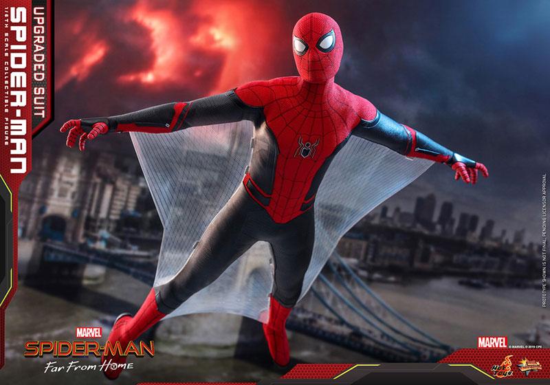 ムービー・マスターピース『スパイダーマン アップグレードスーツ』Far From Home 1/6 可動フィギュア-014