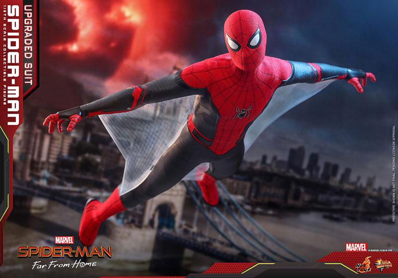 ムービー・マスターピース『スパイダーマン アップグレードスーツ』Far From Home 1/6 可動フィギュア-015