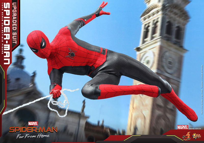 ムービー・マスターピース『スパイダーマン アップグレードスーツ』Far From Home 1/6 可動フィギュア-016