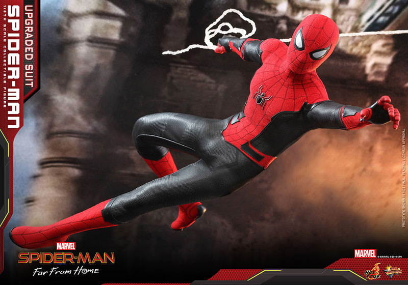 ムービー・マスターピース『スパイダーマン アップグレードスーツ』Far From Home 1/6 可動フィギュア-017