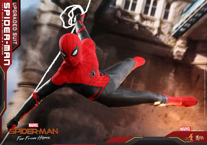 ムービー・マスターピース『スパイダーマン アップグレードスーツ』Far From Home 1/6 可動フィギュア-018