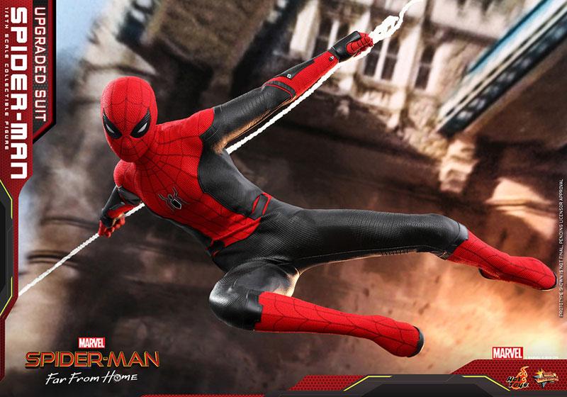 ムービー・マスターピース『スパイダーマン アップグレードスーツ』Far From Home 1/6 可動フィギュア-019