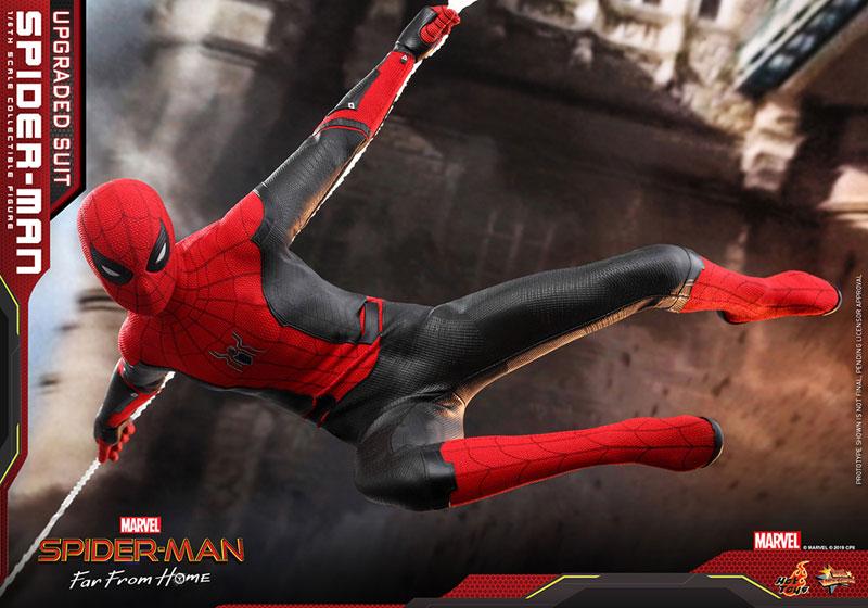 ムービー・マスターピース『スパイダーマン アップグレードスーツ』Far From Home 1/6 可動フィギュア-020