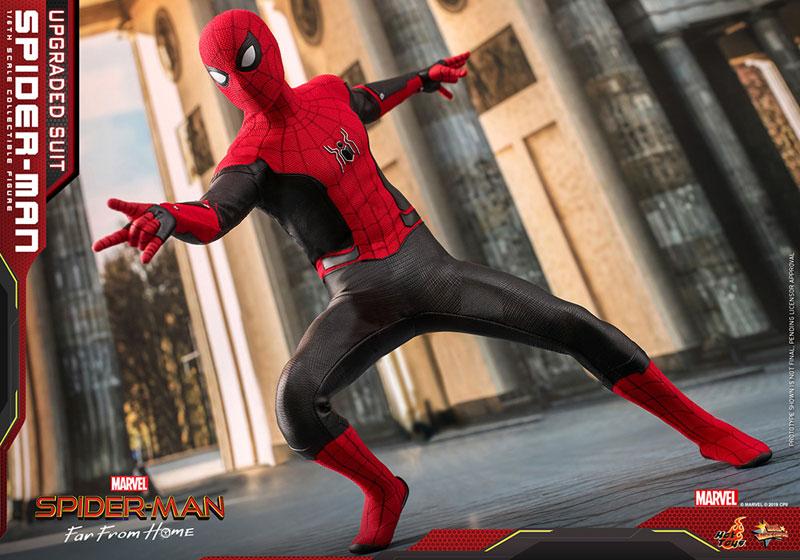ムービー・マスターピース『スパイダーマン アップグレードスーツ』Far From Home 1/6 可動フィギュア-021