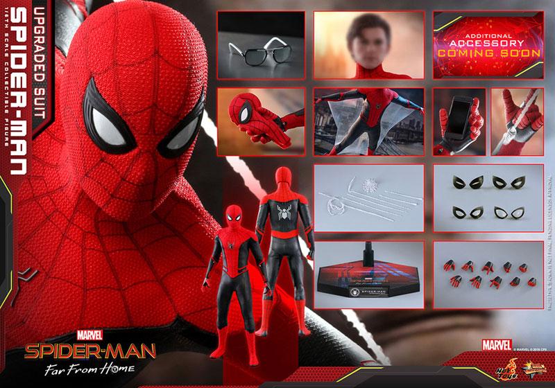 ムービー・マスターピース『スパイダーマン アップグレードスーツ』Far From Home 1/6 可動フィギュア-022