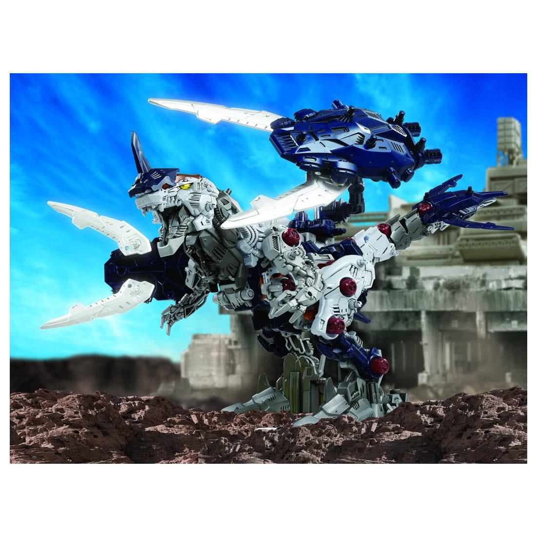 ゾイドワイルド『ZW55 ゼノレックス・シザースXA』組み立て可動フィギュア-009
