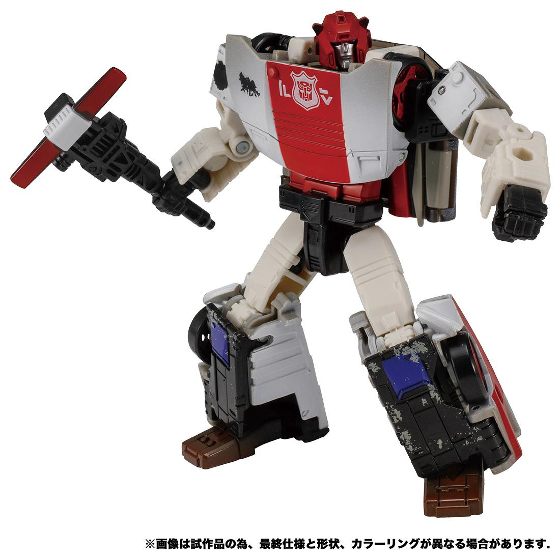 トランスフォーマー ウォーフォーサイバトロン『WFC-13 レッドアラート』可変可動フィギュア-001