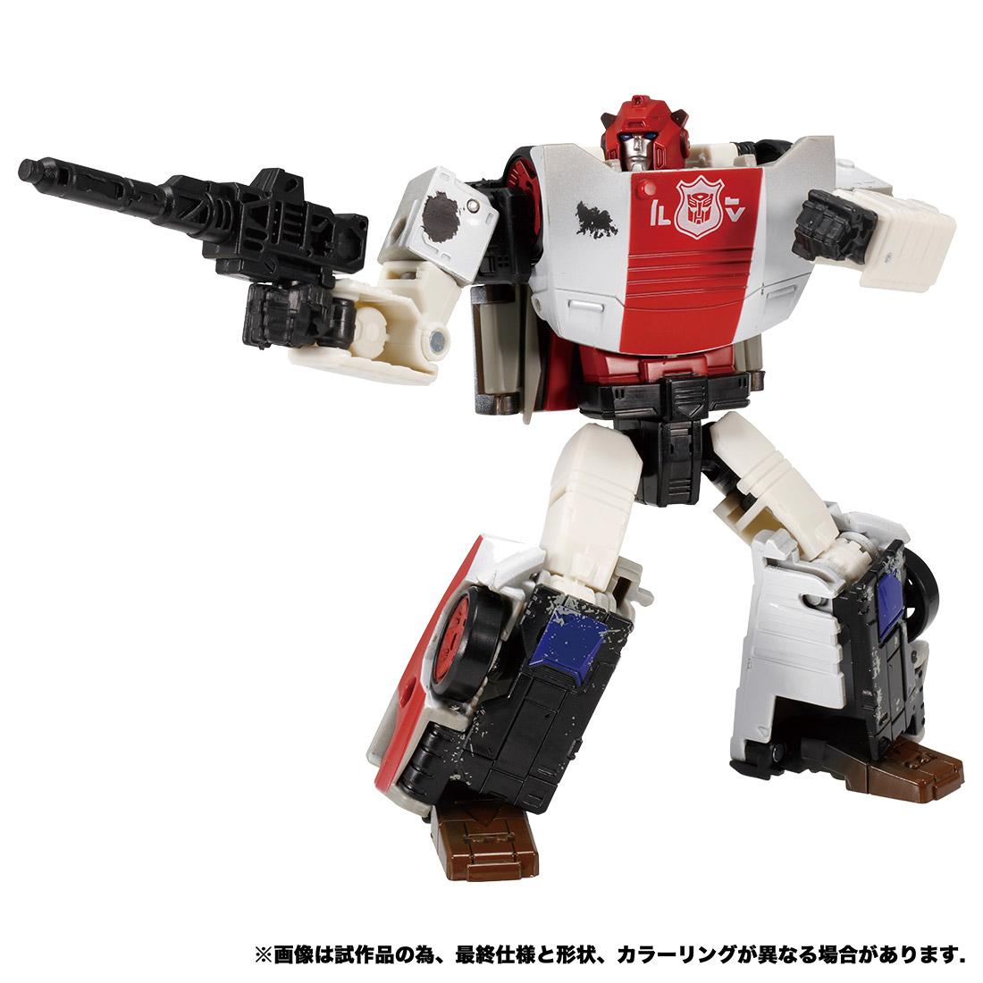 トランスフォーマー ウォーフォーサイバトロン『WFC-13 レッドアラート』可変可動フィギュア-003