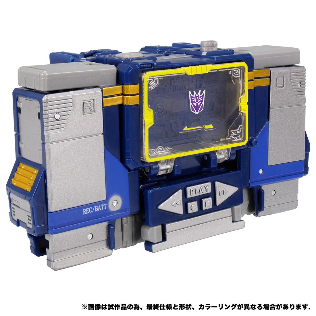 トランスフォーマー ウォーフォーサイバトロン『WFC-14 サウンドウェーブ』可変可動フィギュア-002