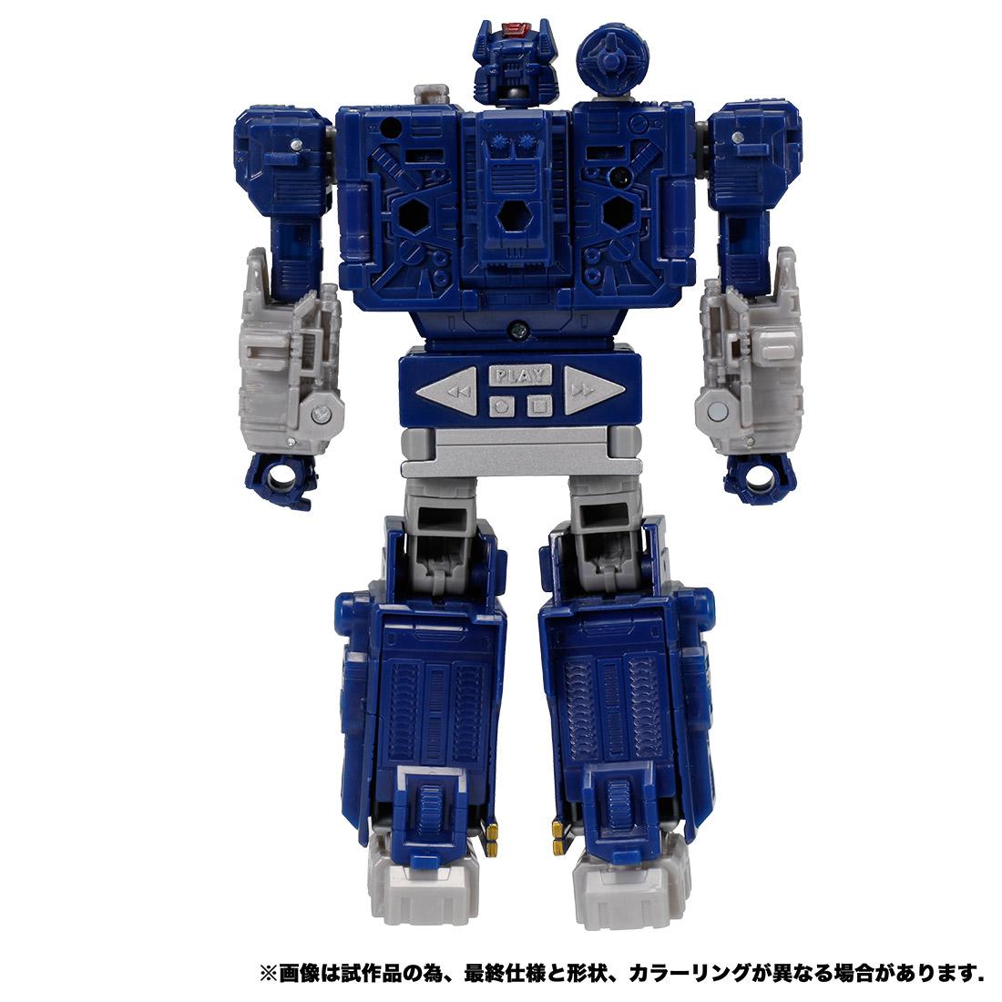 トランスフォーマー ウォーフォーサイバトロン『WFC-14 サウンドウェーブ』可変可動フィギュア-009