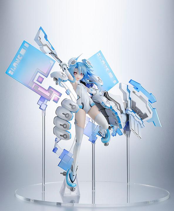 【限定販売】新次元ゲイム ネプテューヌ『ホワイトハート』1/7 完成品フィギュア-001