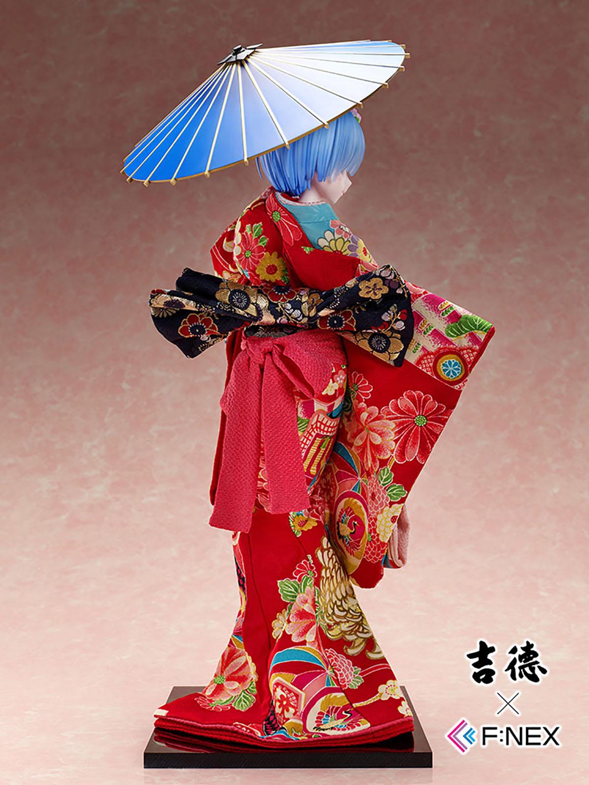 吉徳×F:NEX『レム -日本人形-』Re:ゼロから始める異世界生活 1/4 美少女フィギュア-003