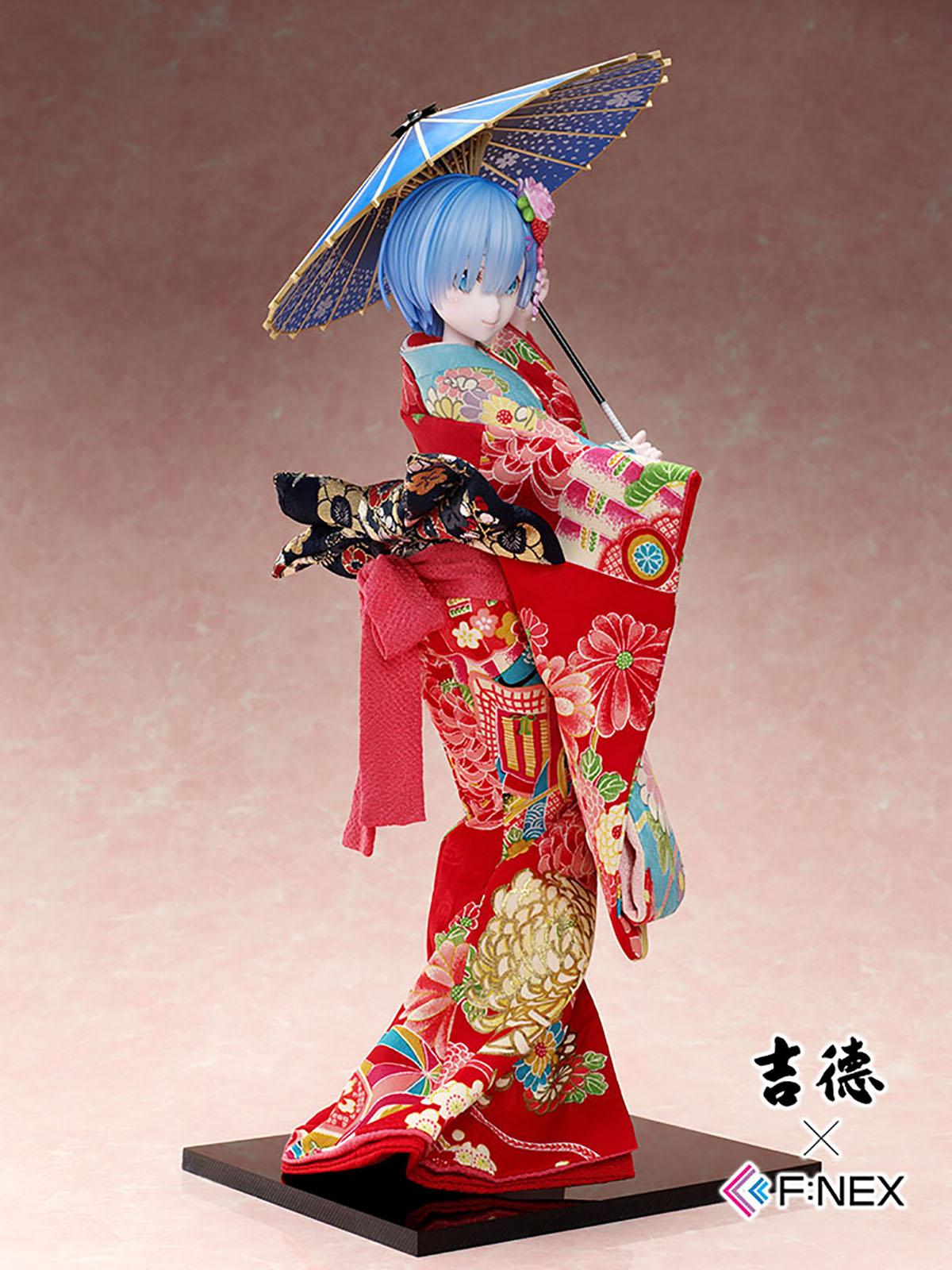吉徳×F:NEX『レム -日本人形-』Re:ゼロから始める異世界生活 1/4 美少女フィギュア-006