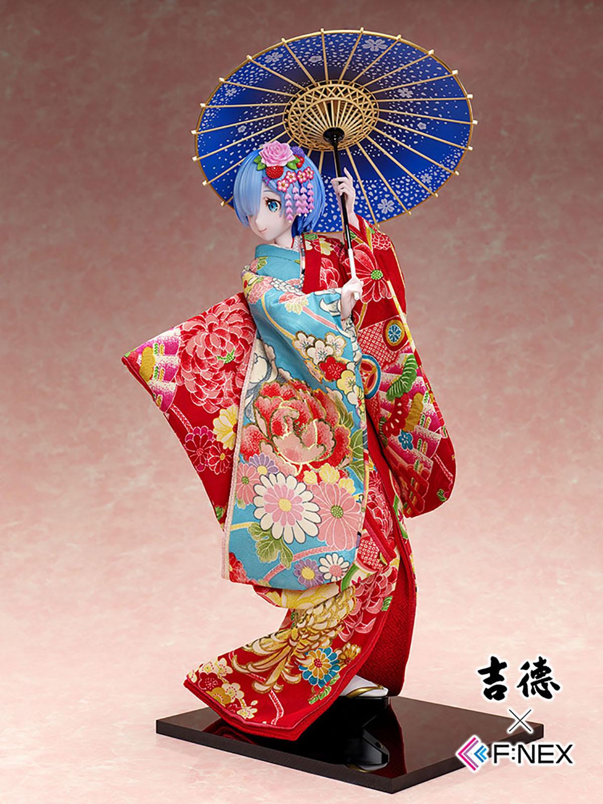 吉徳×F:NEX『レム -日本人形-』Re:ゼロから始める異世界生活 1/4 美少女フィギュア-007