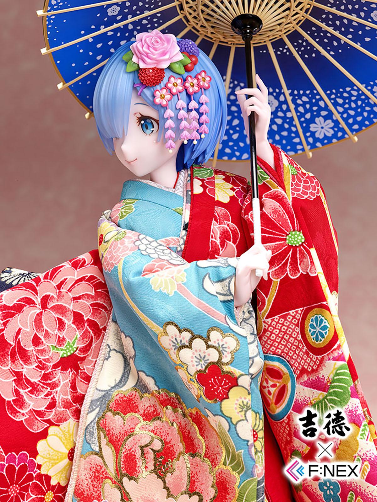 吉徳×F:NEX『レム -日本人形-』Re:ゼロから始める異世界生活 1/4 美少女フィギュア-008