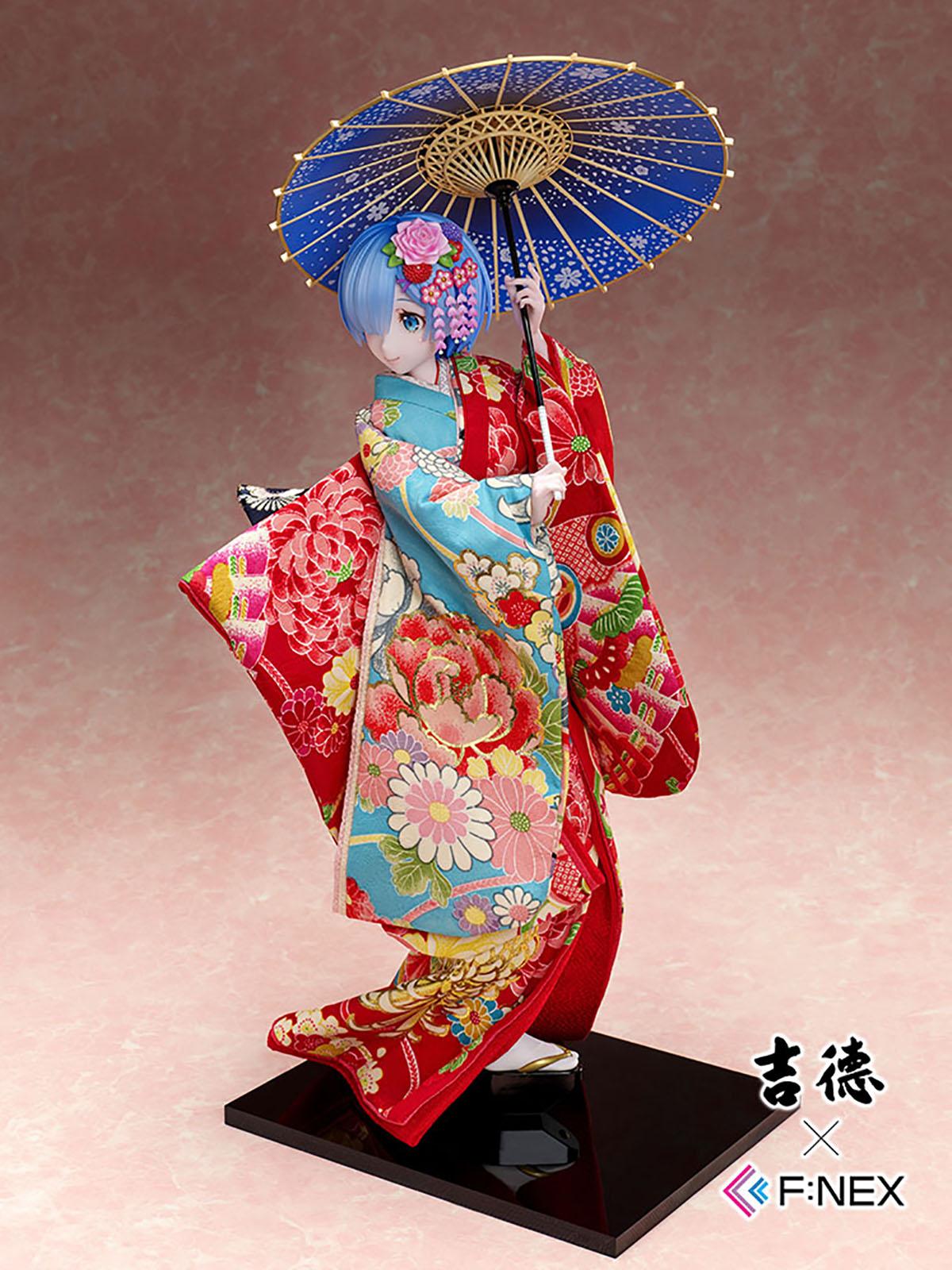 吉徳×F:NEX『レム -日本人形-』Re:ゼロから始める異世界生活 1/4 美少女フィギュア-009