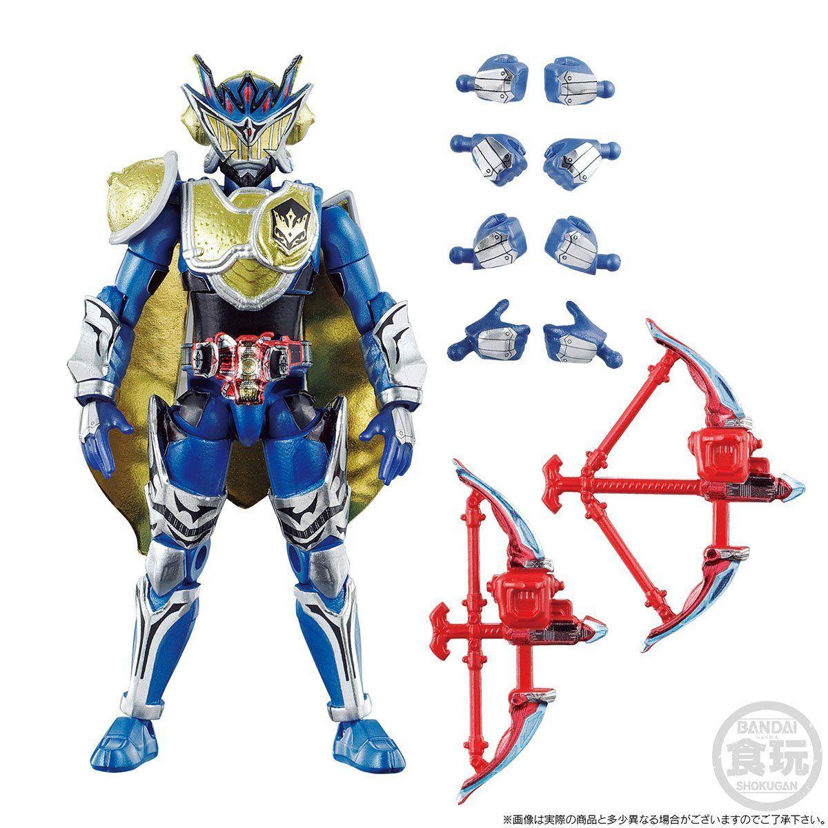 【限定販売】【食玩】SO-DO CHRONICLE『仮面ライダー鎧武 ゲネシスライダーセット』可動フィギュア-008