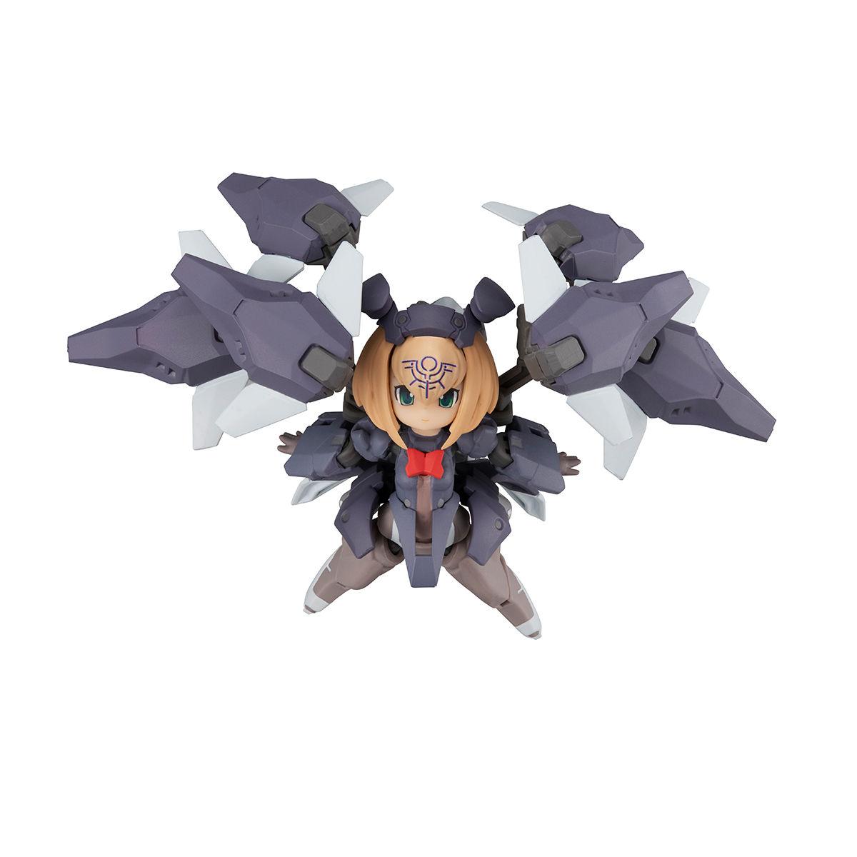 【限定販売】デスクトップアーミー『F-666d ヴァルカシリーズ (フレア ドラグーン鹵獲仕様)』可動フィギュア-008