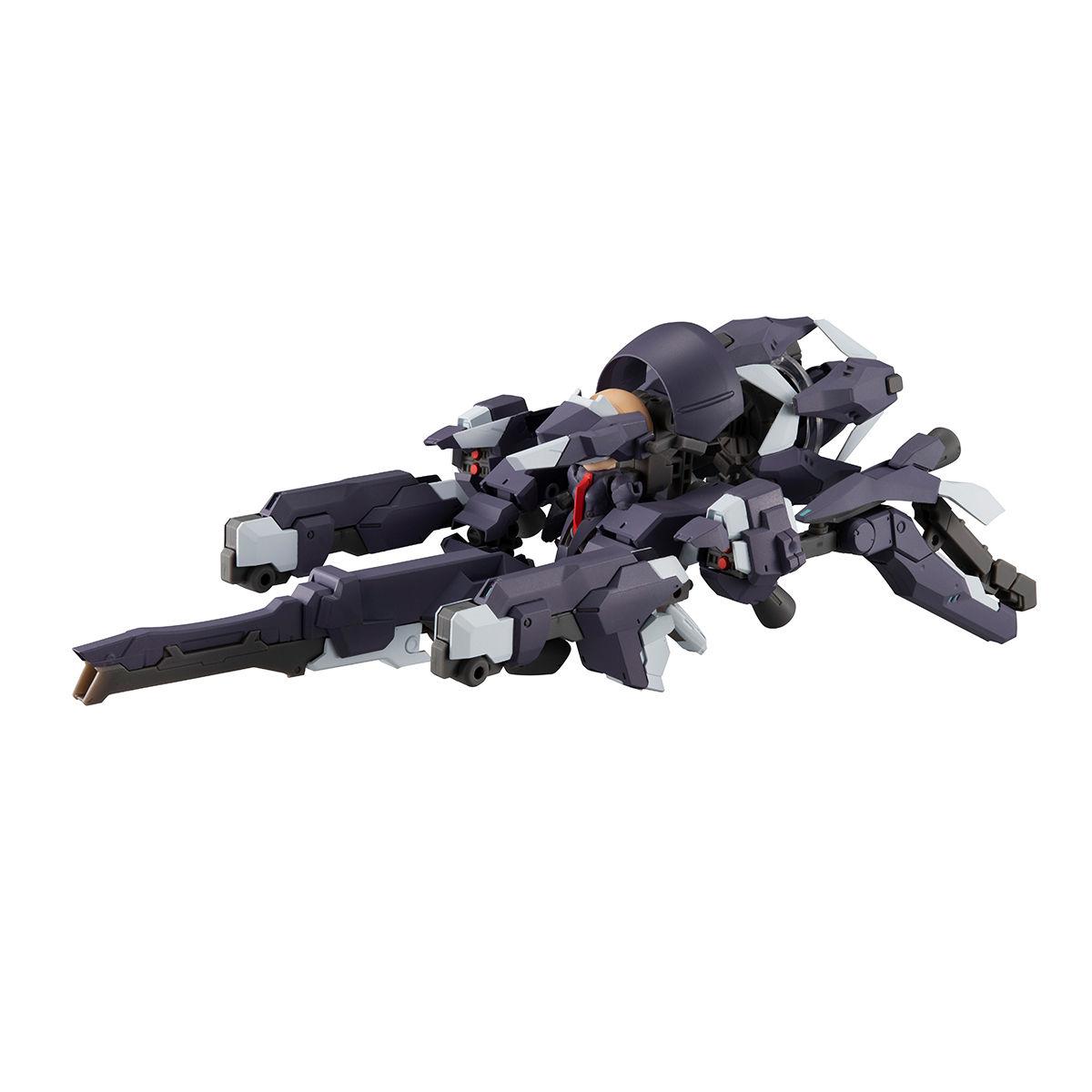 【限定販売】デスクトップアーミー『F-666d ヴァルカシリーズ (フレア ドラグーン鹵獲仕様)』可動フィギュア-009