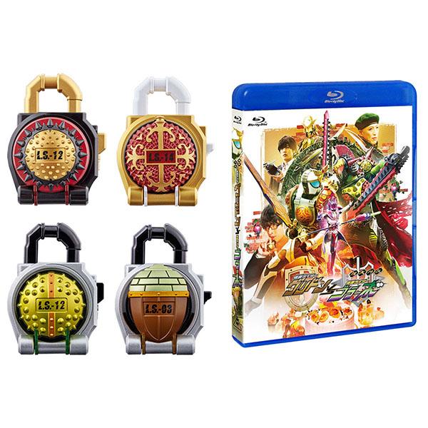 【限定販売】CSM『ロックシード シャルモンセット 鎧武外伝Blu-ray スペシャルセット』仮面ライダー鎧武 変身なりきり