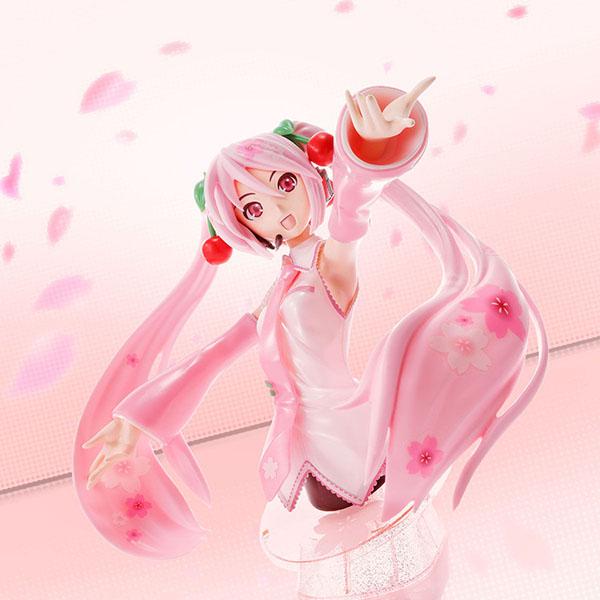 【限定販売】【再販】Figure-riseBust『桜ミク』プラモデル