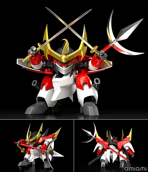PLAMAX MS-10『戦王丸』魔神英雄伝ワタル プラモデル