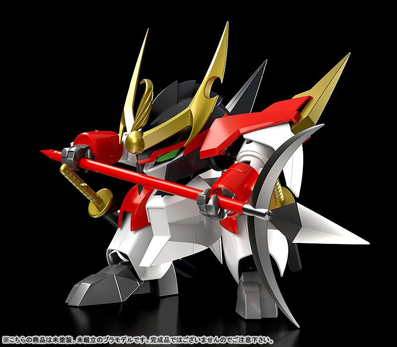 PLAMAX MS-10『戦王丸』魔神英雄伝ワタル プラモデル-002
