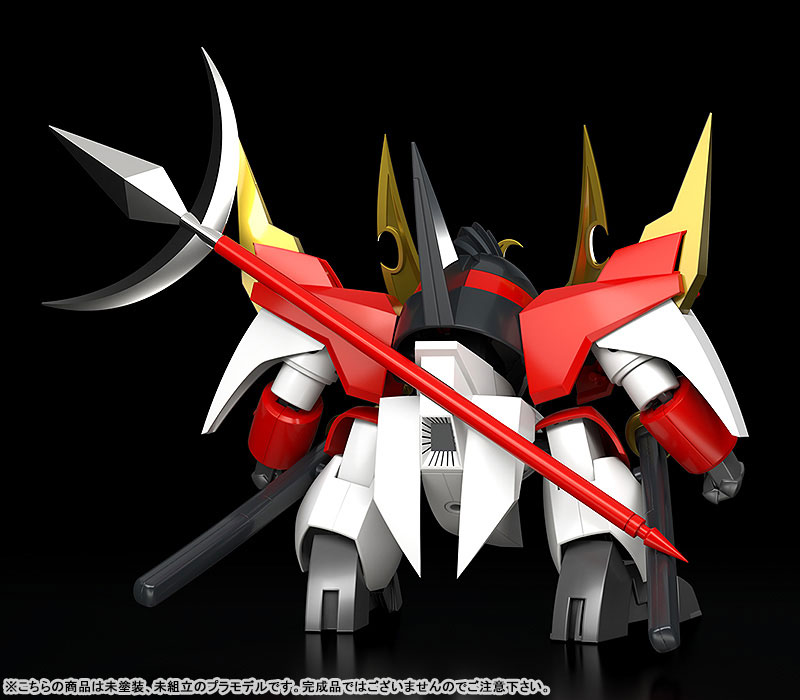 PLAMAX MS-10『戦王丸』魔神英雄伝ワタル プラモデル-004