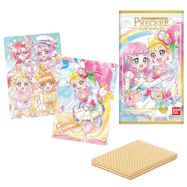 【食玩】プリキュア『プリキュア カードウエハース2』20個入りBOX