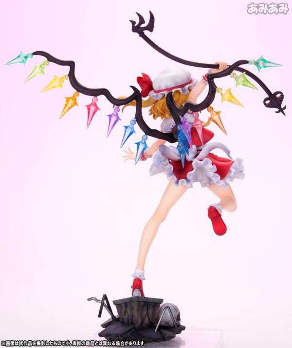 """【再販】東方Project『""""悪魔の妹"""" フランドール・スカーレット』1/8 完成品フィギュア-002"""