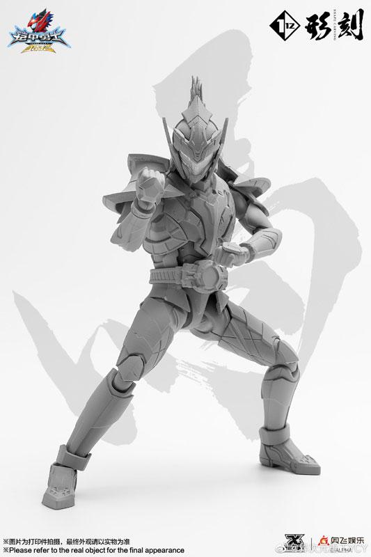 鎧甲勇士 アーマーヒーロー『ハンタースタリオン』1/12 可動フィギュア-002