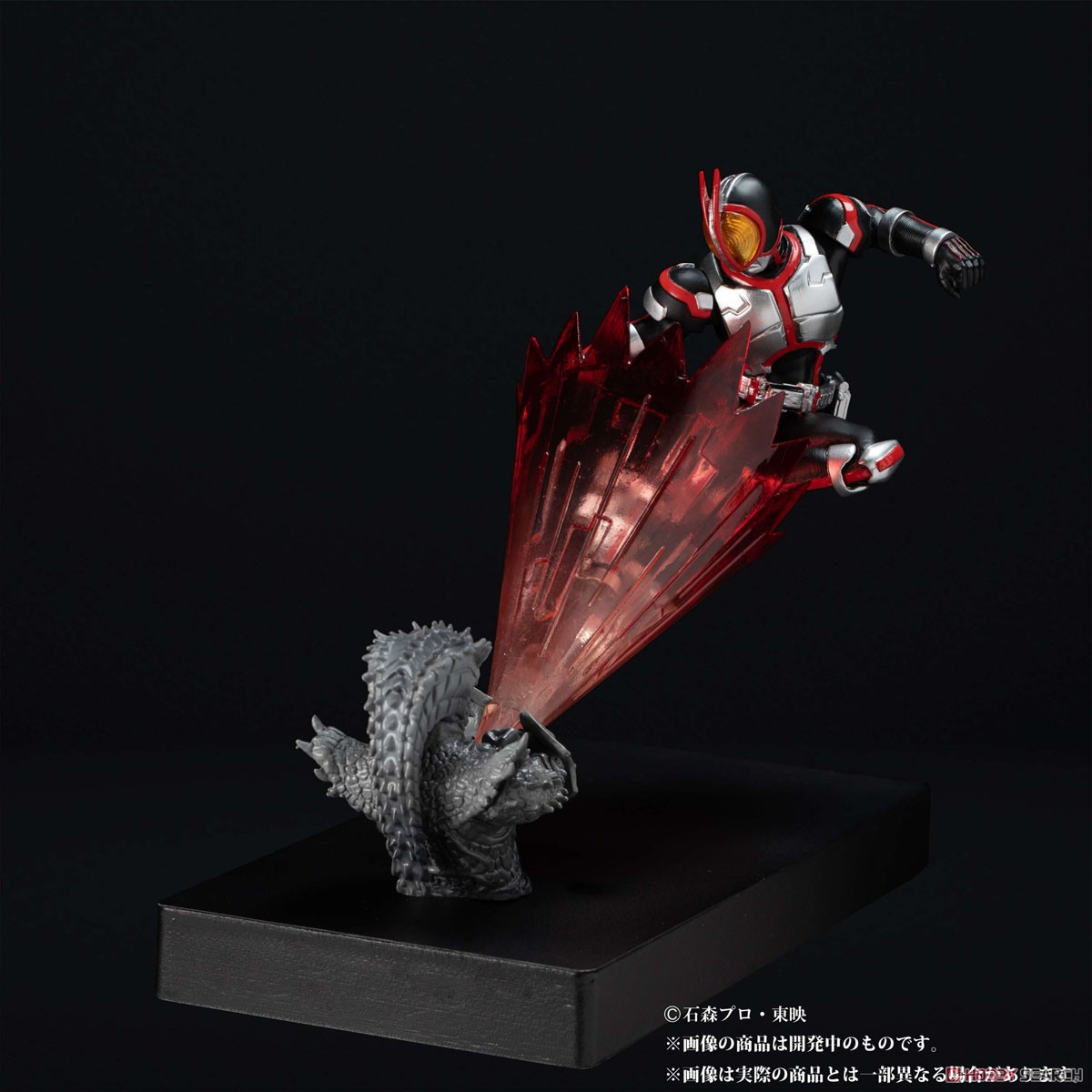 Glow In The Dark『仮面ライダーファイズ』仮面ライダー555 完成品フィギュア-001