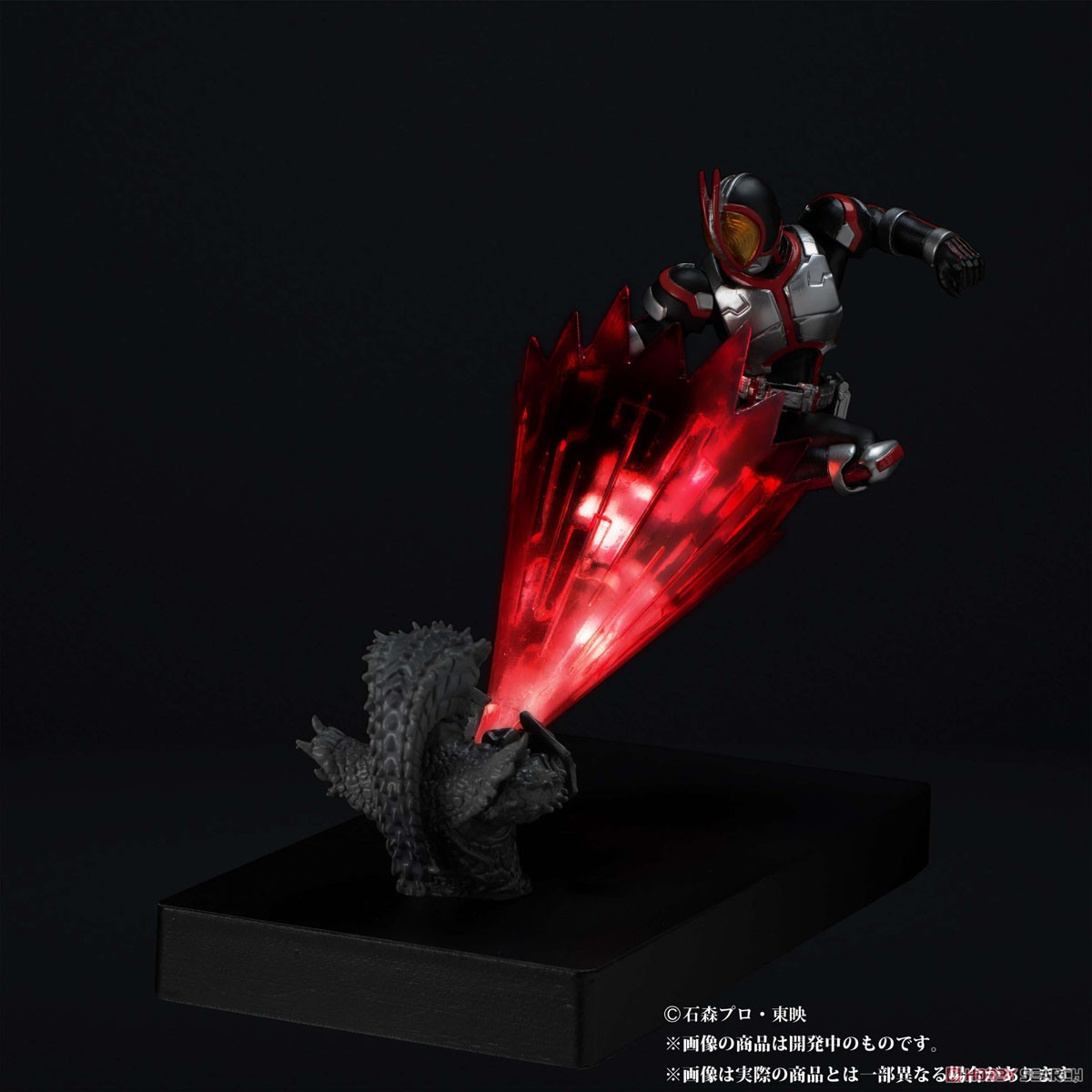 Glow In The Dark『仮面ライダーファイズ』仮面ライダー555 完成品フィギュア-002