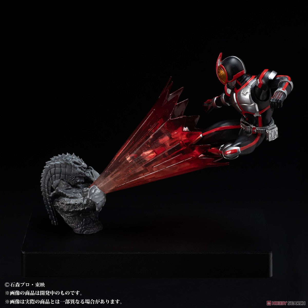 Glow In The Dark『仮面ライダーファイズ』仮面ライダー555 完成品フィギュア-003