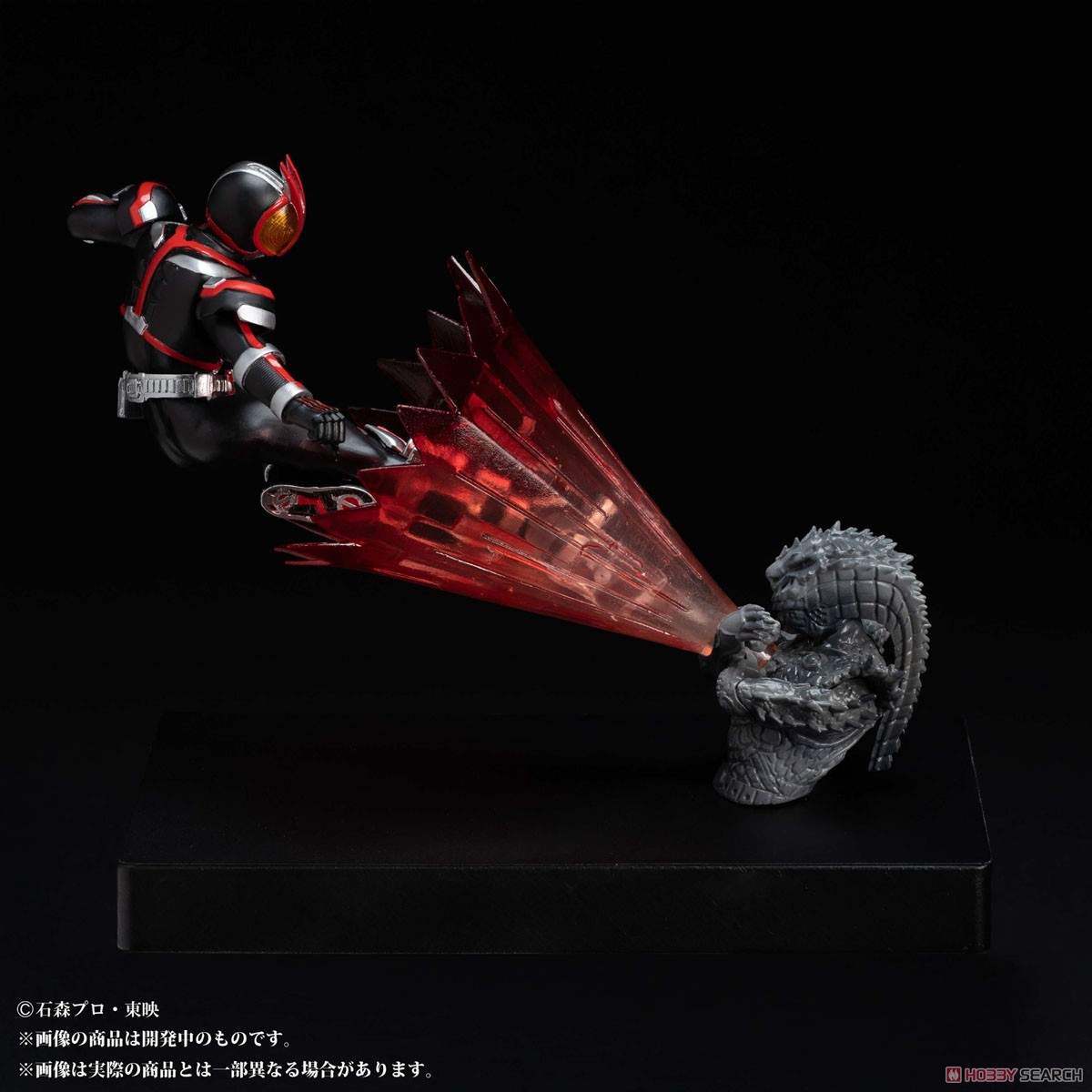 Glow In The Dark『仮面ライダーファイズ』仮面ライダー555 完成品フィギュア-008