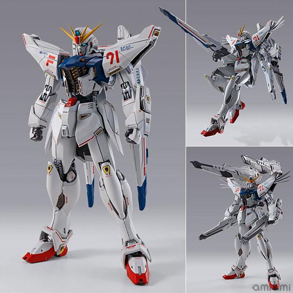 METAL BUILD『ガンダムF91 CHRONICLE WHITE Ver.ス』機動戦士ガンダムF91 可動フィギュア