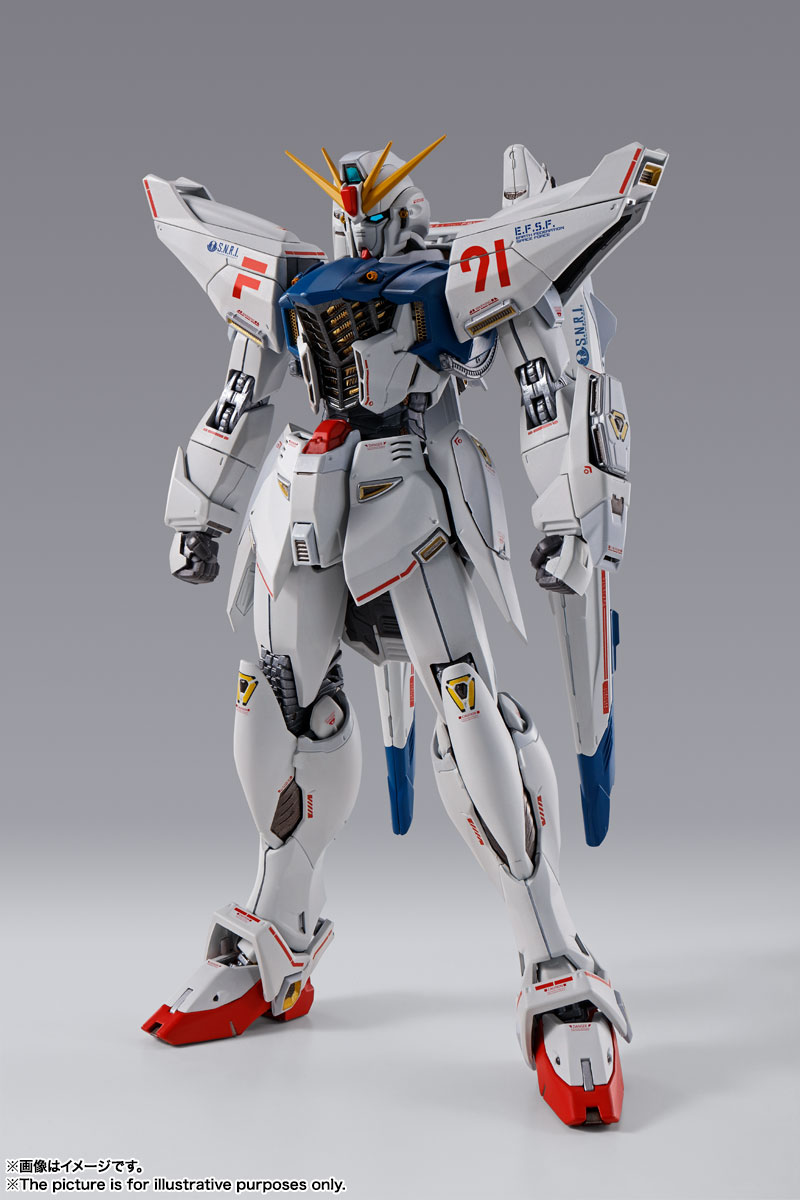 METAL BUILD『ガンダムF91 CHRONICLE WHITE Ver.ス』機動戦士ガンダムF91 可動フィギュア-001