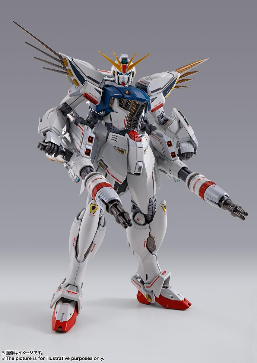 METAL BUILD『ガンダムF91 CHRONICLE WHITE Ver.ス』機動戦士ガンダムF91 可動フィギュア-004