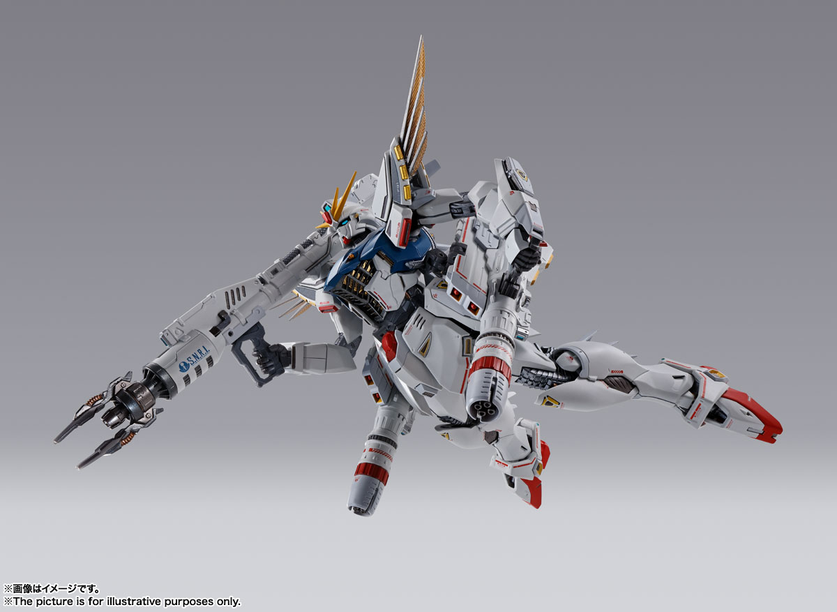 METAL BUILD『ガンダムF91 CHRONICLE WHITE Ver.ス』機動戦士ガンダムF91 可動フィギュア-005