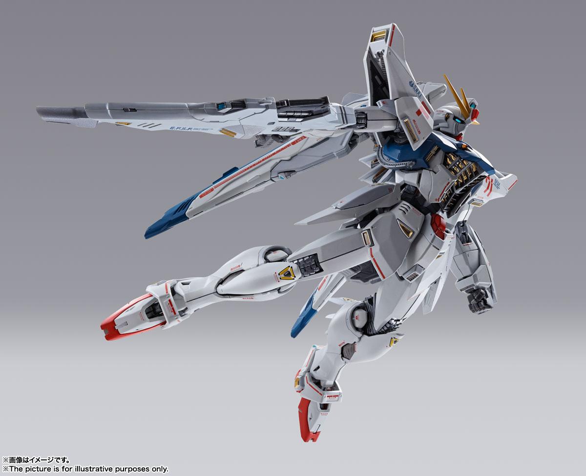 METAL BUILD『ガンダムF91 CHRONICLE WHITE Ver.ス』機動戦士ガンダムF91 可動フィギュア-006