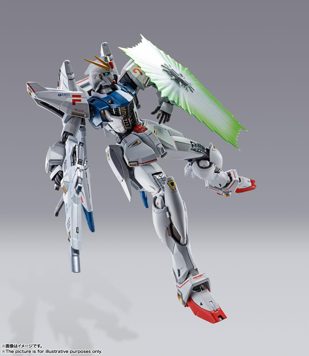 METAL BUILD『ガンダムF91 CHRONICLE WHITE Ver.ス』機動戦士ガンダムF91 可動フィギュア-007