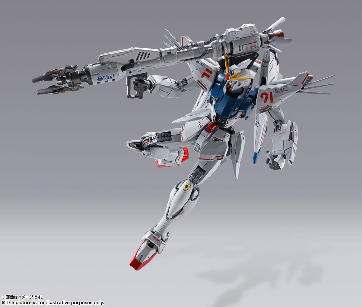 METAL BUILD『ガンダムF91 CHRONICLE WHITE Ver.ス』機動戦士ガンダムF91 可動フィギュア-008