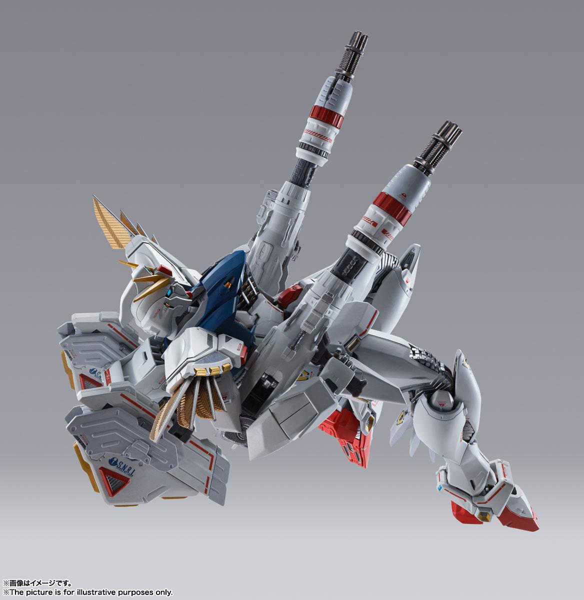 METAL BUILD『ガンダムF91 CHRONICLE WHITE Ver.ス』機動戦士ガンダムF91 可動フィギュア-009