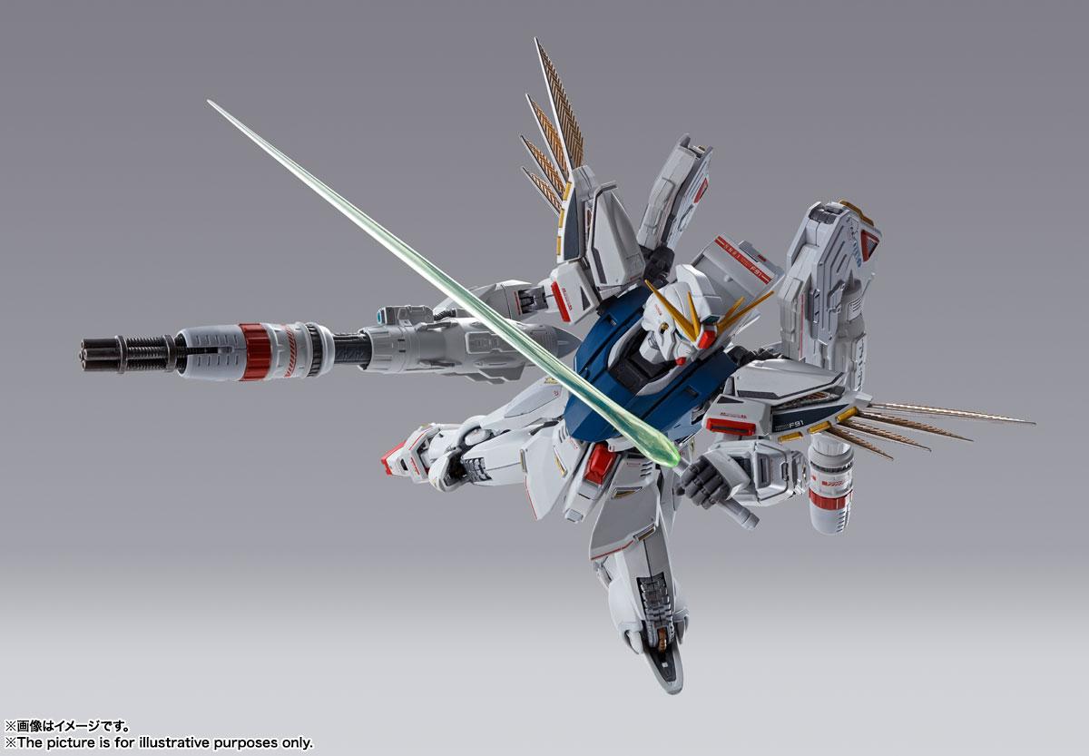 METAL BUILD『ガンダムF91 CHRONICLE WHITE Ver.ス』機動戦士ガンダムF91 可動フィギュア-010
