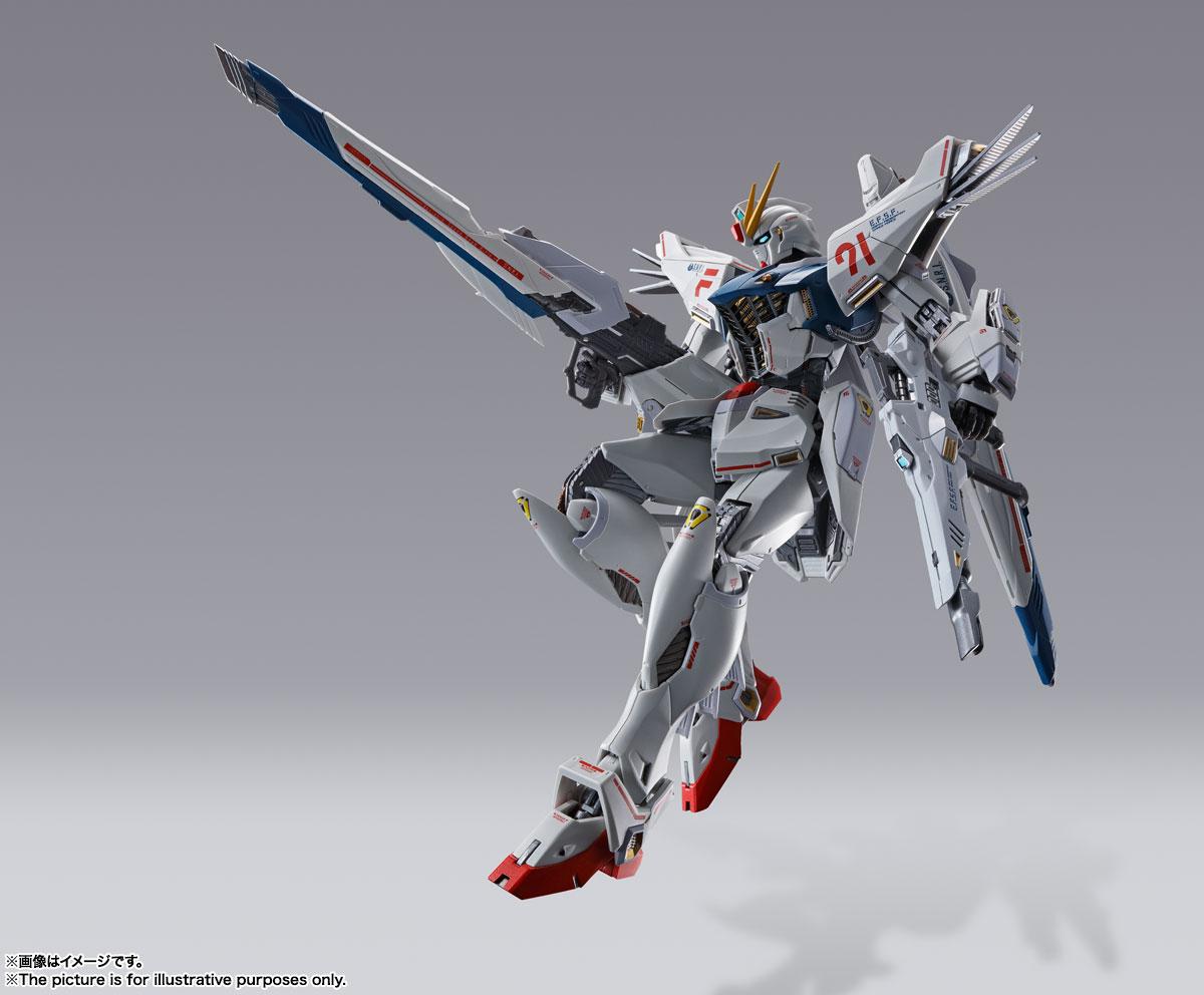 METAL BUILD『ガンダムF91 CHRONICLE WHITE Ver.ス』機動戦士ガンダムF91 可動フィギュア-012