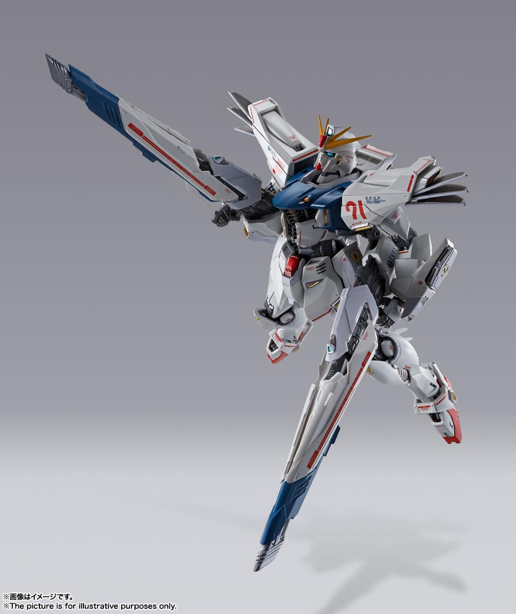 METAL BUILD『ガンダムF91 CHRONICLE WHITE Ver.ス』機動戦士ガンダムF91 可動フィギュア-013