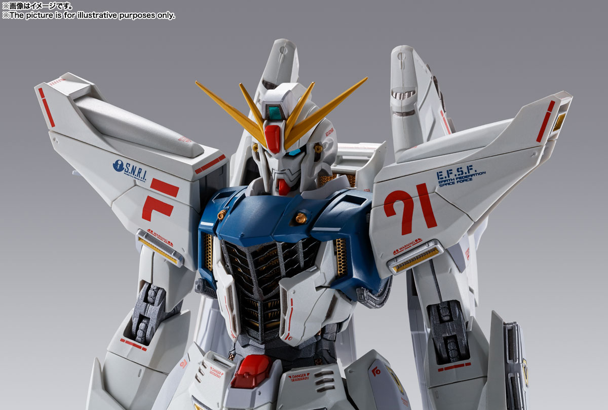 METAL BUILD『ガンダムF91 CHRONICLE WHITE Ver.ス』機動戦士ガンダムF91 可動フィギュア-014