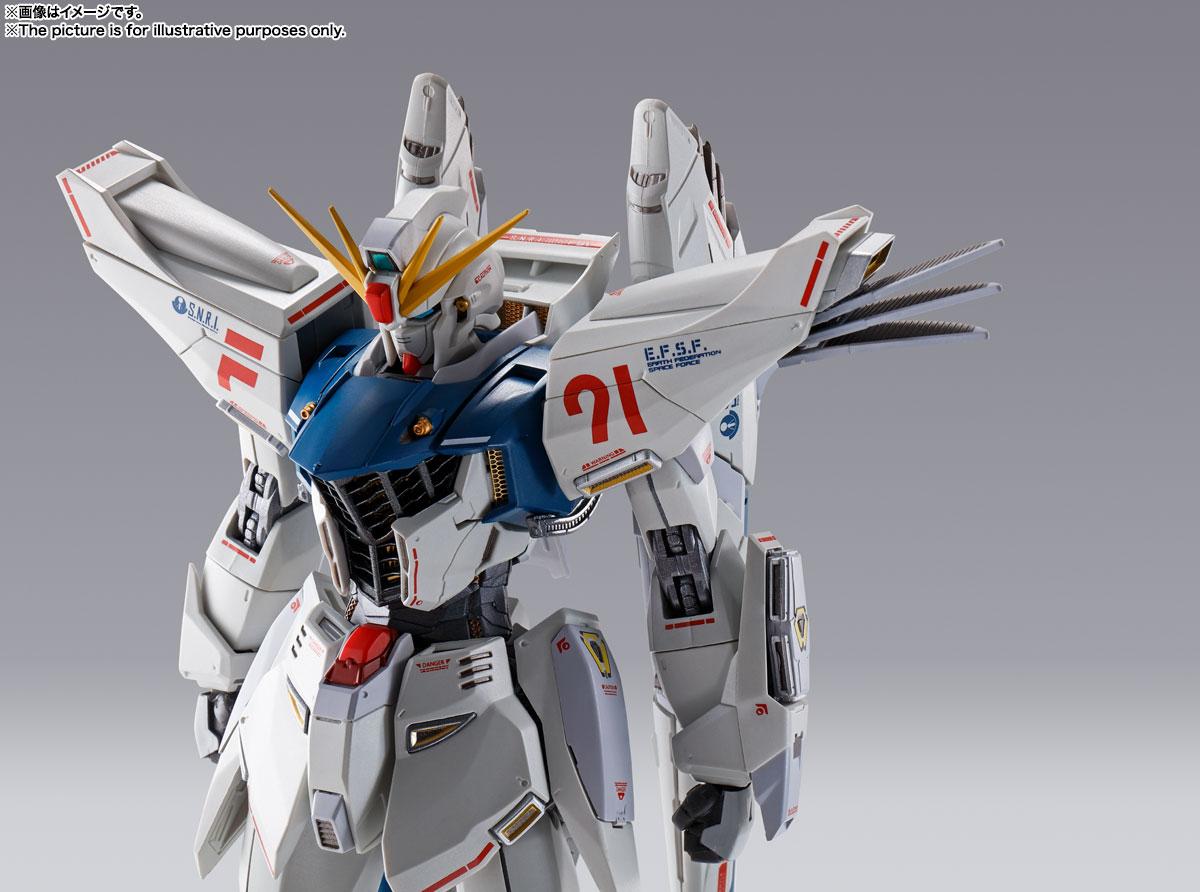 METAL BUILD『ガンダムF91 CHRONICLE WHITE Ver.ス』機動戦士ガンダムF91 可動フィギュア-015