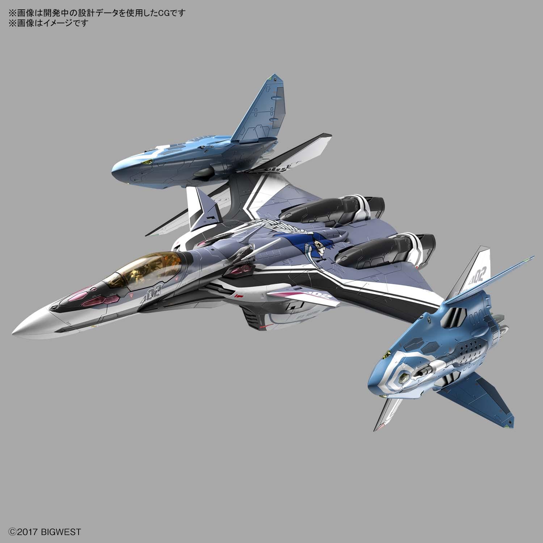 1/72『VF-31Fジークフリード/リル・ドラケン装備(ハヤテ・インメルマン搭乗機)』マクロスΔ プラモデル-001