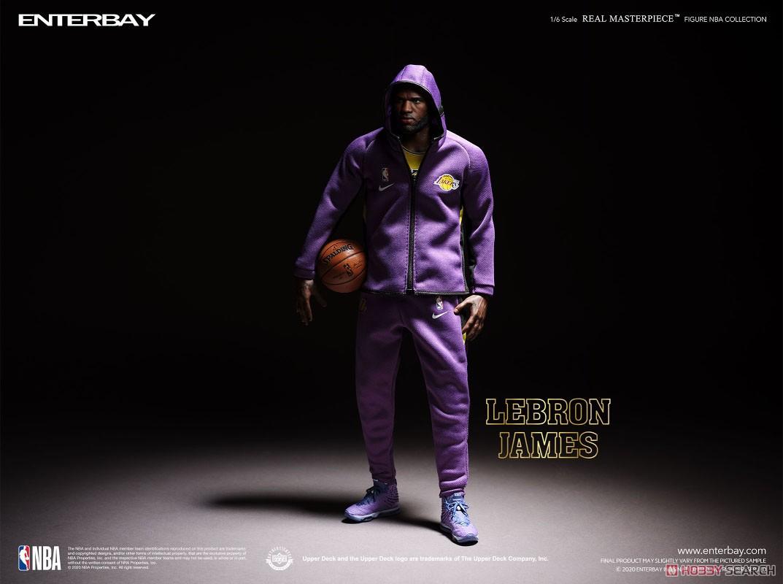 リアルマスターピース NBAコレクション『レブロン・ジェームズ  LAレイカーズver』1/6 コレクティブルフィギュア-006